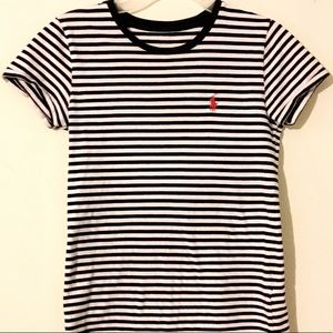 Polo brand striped shirt.